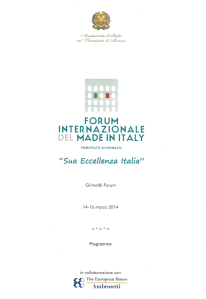 Forum Made in Italy