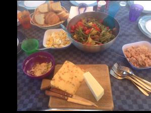 a light sicilian lunch