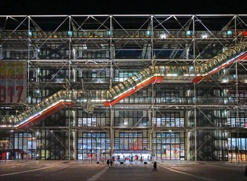 Renzo Piano Pompidou