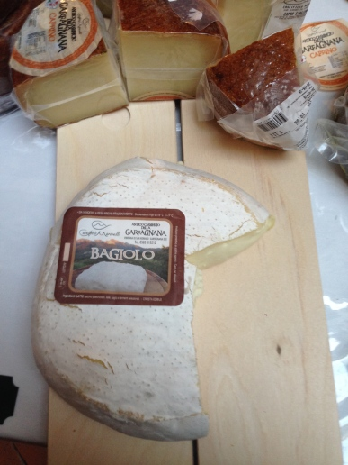 Bagiolo, the cheese that is a kiss