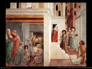 Miracles of St Francis in Montefalco