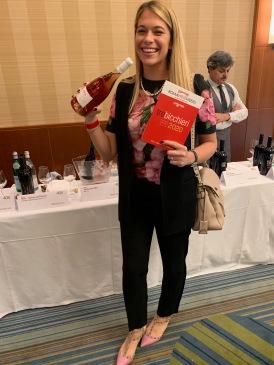 Marzia Varvaglione with Idea, a Primitivo rosé